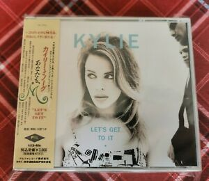 Kylie Minogue Japanese Promo Let's Get To It Double Cd PWL/Alfa Rare