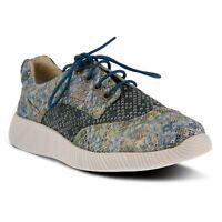 L'Artiste by Spring Step Cozi Women's Blue Sneaker sz 35 / US 5