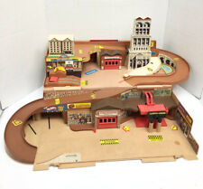 Vintage Mattel Hot Wheels Sto and Go City Carry Case Fold Up Portable
