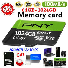 PNY 2021 Newest 1TB 100% High Speed Large Capacity  Memory Card