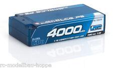 LRP4000 Real Shorty LCG P5 110C 55C 7.4V LiPo1-10Compet.Car Line Hardcase 430239