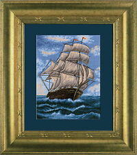 Sailing-ship - Cross Stitch Kit with Color Symbolic Scheme SKU:487