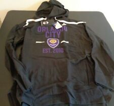 Orlando City SC MLS Soccer ADIDAS Women's XL Hoodie NEW Sweatshirt FREE SHIPPING