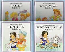 A CHILDREN'S BOOK ABOUT GOSSIPING BEING DESTRUCTIVE RUDE, SHOWING OFF- JOY BERRY