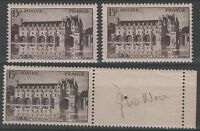 """FRANCE STAMP TIMBRE 610 """" CHATEAU CHENONCEAUX , 3 COULEURS """" NEUFS xx LUXE N967"""