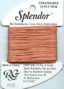 Rainbow Gallery Splendor S1132 Dark Bronze Strandable 12Ply Silk Floss Thread