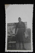 Photographie originale ancienne WW2 1939 Militaire Soldat French military