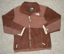 Girls The North Face Denali Fleece Jacket, Youth Boys Unisex Large, Dark Brown