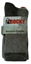 Mens Rocky Merino Wool Socks 2-Pk Large