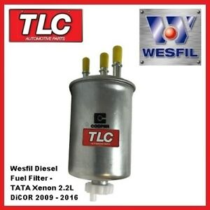 Wesfil Diesel Fuel Filter - TATA Xenon 2.2 DiCOR Diesel 2009 - 2016