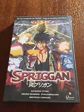 SPRIGGAN - 1 DVD CON LIBRETO - 91 MIN - FILMAX HOME VIDEO EN MUY BUEN ESTADO
