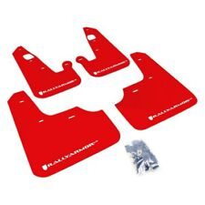 Rally Armor 2007+ Mitsubishi Lancer (doesn't fit Sportback) UR Red Mud Flap w/ W
