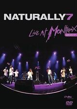 ~ HIP HOP GROUP OUT OF NEW YORK CITY ~  NATURALLY SEVEN LIVE AT MONTREU DVD ~