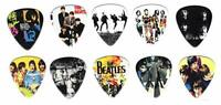 The Beatles Guitar picks | Popular Pop Bands | King of Melody (10 in a pack)