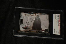 JAMES EARL JONES (DARTH VADER) 2007 TOPPS STAR WARS SIGNED AUTO CARD SGC SLABBED