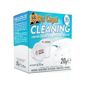 MR. CAPS CLEANING PODS COMPATIBLE WITH NESPRESSO ORIGINALLINE MACHINES x 1 PACK
