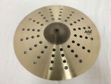 "Sabian AAX 16"" Aero Crash Cymbal/New with Warranty"