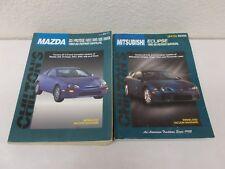 % 2 Chilton's Mitsubishi Eclipse 1990-1998  Mazda 1990-93 Repair Manual