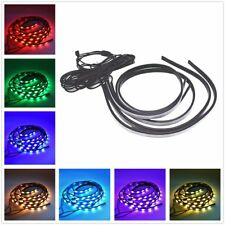 "RGB 47"" & 35"" LED Strip Undercar Tube Underglow Underbody Neon Light Kit 8 Color"