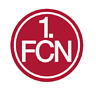 FCN 1. FC NÜRNBERG KFZ AUTOAUFKLEBER RUND AUTO AUFKLEBER STICKER BUTTON NEU TOP