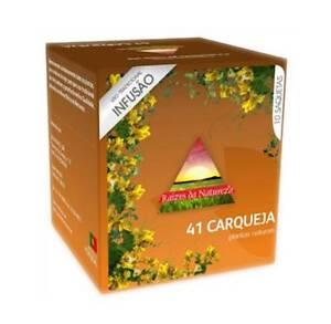 CARQUEJA / Gorse Tea bags (Baccharis trimera) 10 bags x 8 boxes - Natural Teas