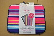 Fashion Nation Macbeth Collection Hip Hop Stripe Neoprene iPad Sleeve