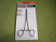 """5.5"""" Locking Hemostat Clamp Magnetic Stainless Steel Surgical Medical Type Clip"""