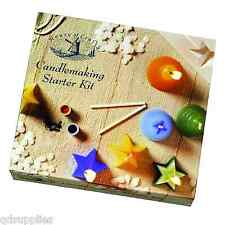 KERZENHERSTELLUNG STARTER PAKET HOUSE OF CRAFTS SET WAX FORMEN INSTRUKTIONEN 220