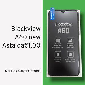 Blackview A60 6.1 Dual SIM 4080 mAh 1GB + 16GB Cellulari e Smartphone Asta Da €1