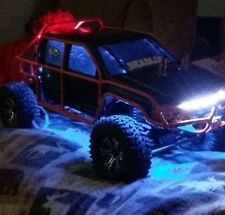 Traxxas Arrma 3s RC LED lights W/ handheld remote scx10 X Maxx  rustler stampede
