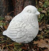 "Latex bird mold with plastic backup 5.5"" L x 5"" H plaster concrete casting mould"