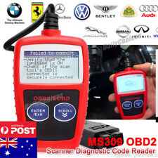 OBDII OBD2 CAR FAULT CODE READER SCANNER DIAGNOSTIC SCAN RESET Tool AU