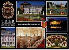 Postkarte Trier Fotokunst Schwalbe: M4 Im Palastgarten, kurfürstliches Palais