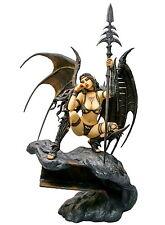 Fantasy Figure Gallery Black Tinkerbell PVC Statue Figure Luis Royo Yamato