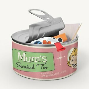 Retro Style Gift For All Family Members - Novelty Survival Tin