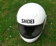 SHOEI TXR FULL FACE GLOSS WHITE MOTORCYCLE HELMET SIZE XS 51CM