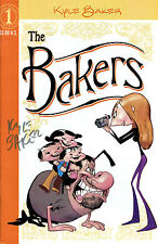 THE BAKERS #1 SIGNED BY CREATOR & ARTIST KYLE BAKER (LG)