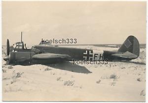 Foto Junkers Ju 88 Flugzeug Wrack der Luftwaffe bei Homs in Afrika 1941 DAK !