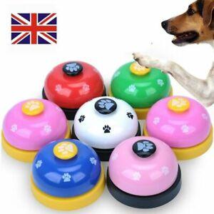 Pet Small Dog Cat Feeding Calling Bells Puppy Metal Potty Toilet Training Bell
