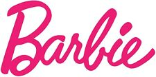 Barbie Sticker Vinyl Decal