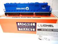 Lionel Conrail SD-60M Diesel Locomotive for O Gauge Train Op. Railsounds-TRO wbx