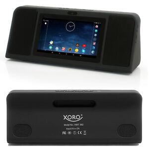 Internet Radio WLAN mit Akku Android Bluetooth Spotify WebTV Wecker XORO HMT 362