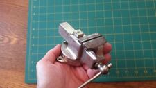 Rare Vintage Antique Prentiss Nickel Plated Small Jeweler's Vise
