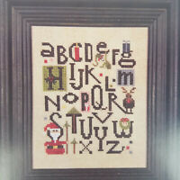 Heart in Hand The ABCs of Christmas Counted Cross Stitch Pattern Chart