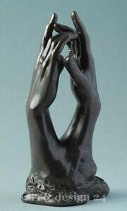 "AUGUSTE RODIN - Museums Skulptur in Geschenkarton - ""Le secret - Das Geheimnis"""