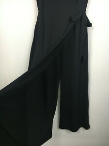 Jumpsuit size 12 Ellis and Dewey black label cross over pant suit cocktail party