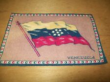 Vintage Tobacco Cigar box felt venezuela