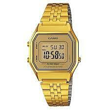 CASIO VINTAGE LA680WGA-9D GOLD PLATED WATCH FOR WOMEN - COD + FREE SHIPPING