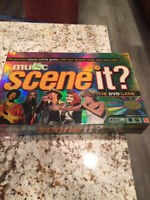 Scene It Music The DVD Game New Sealed 2005 Board Game Music Trivia MTV