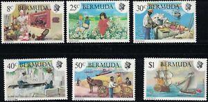 Bermuda SC406-411 18thCenturyKitchen MNH 1981